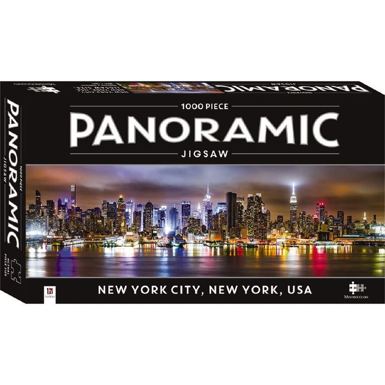 Hinkler Panoramic 1000 Piece Jigsaw New York, , hi-res