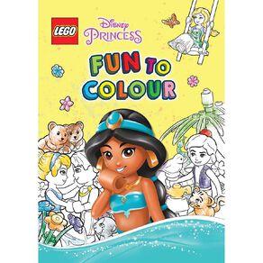 Lego Disney Princess Fun to Colour #2