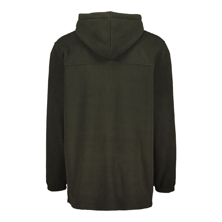 Back Country Solid Fleece Hooded Sweatshirt, Green Dark, hi-res