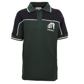 Schooltex Highfield Short Sleeve Polo with Embroidery