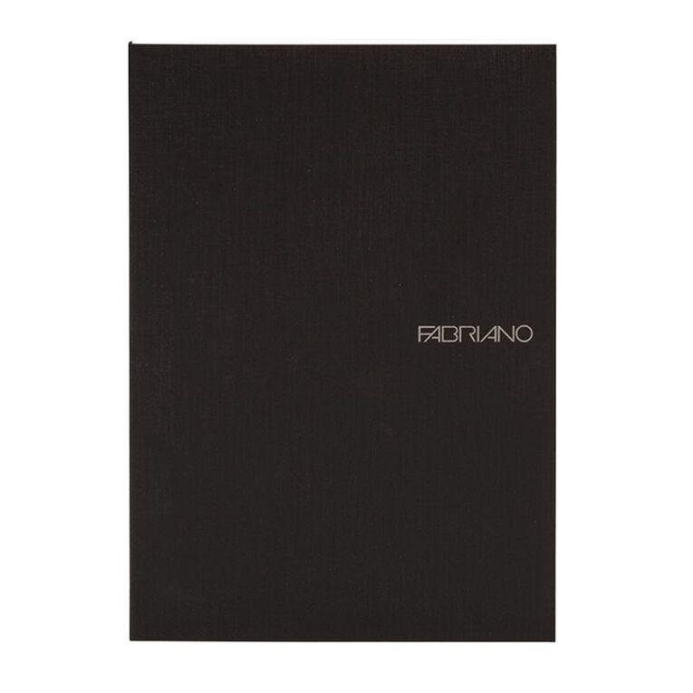 Fabriano Ecoqua Sketchbook Dotted 85GSM 90 Sheets Black A5, , hi-res