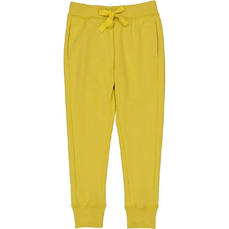 Young Original Jogger Trackpants, Yellow Mid, hi-res