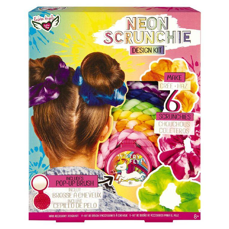 Fashion Angels Neon Scrunchie Design Kit, , hi-res
