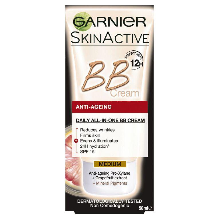 Garnier Anti Aging BB Cream Medium 50ml, , hi-res