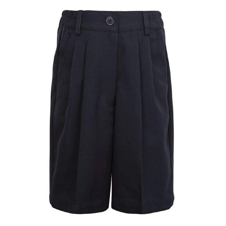 Schooltex Ladies' School Shorts, Navy, hi-res