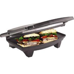 Living & Co Stainless Steel Sandwich Press 2 Slice