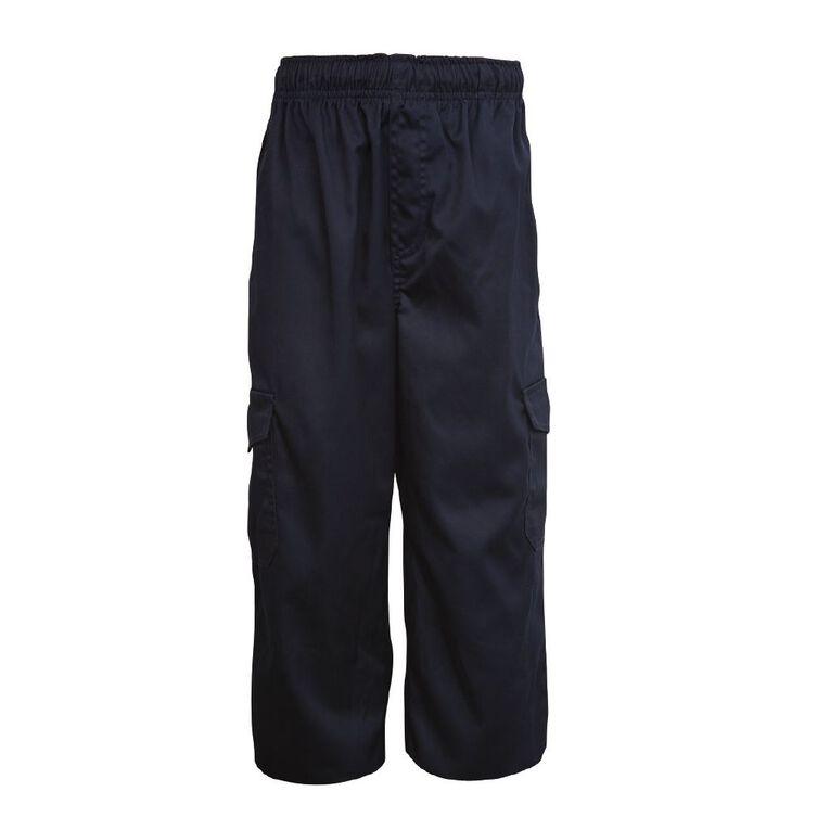 Schooltex Utility Pocket Pants, Navy, hi-res