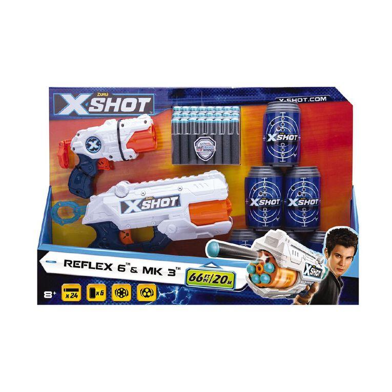 Zuru X-Shot Excel Combo Pack MK 3 & Reflex 6, , hi-res image number null