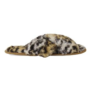 H&H Fluffy Crossover Slippers