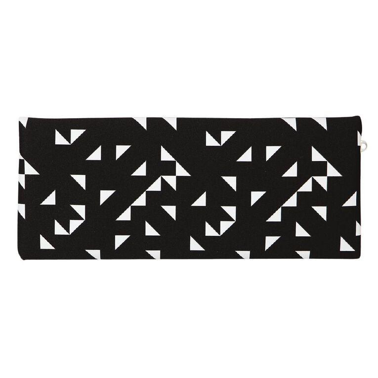 WS Pencil Case Neoprene Black/White 30cm, , hi-res