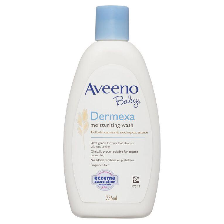 Aveeno Baby Dermexa Wash 236ml, , hi-res