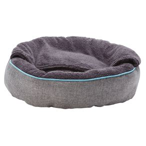 Petzone Snuggle Bed with Attached Blanket