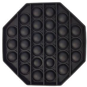 Fidget Pop-It Octagon Black