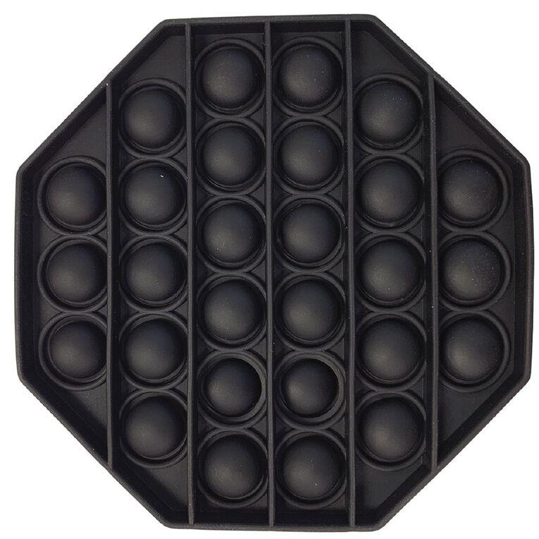 Fidget Pop-It Octagon Black, , hi-res