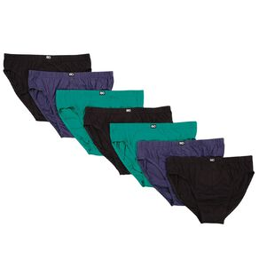 Rio Men's Hipster Brief 7 Pack