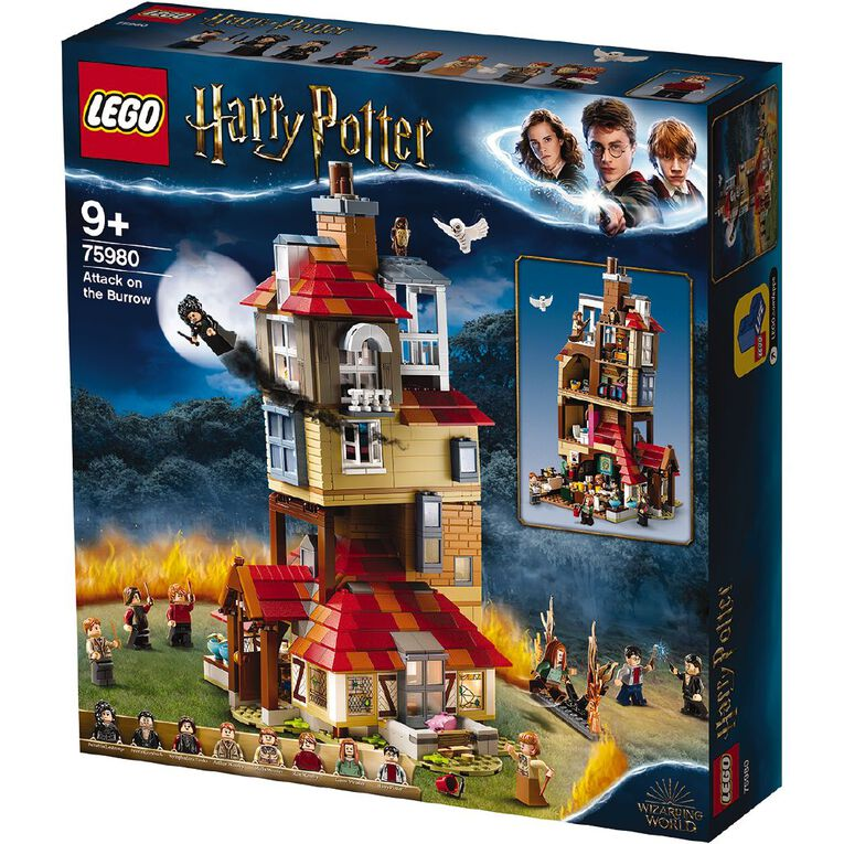 LEGO Harry Potter Attack on the Burrow 75980, , hi-res