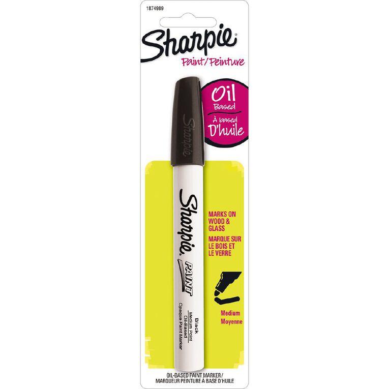 Sharpie Oil-Based Paint Marker Medium Point Black - 1-pack, , hi-res