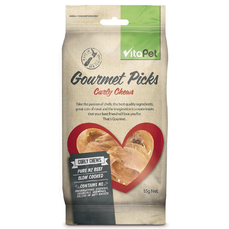 Vitapet Gourmet Picks Veal Liver Chips 85g, , hi-res