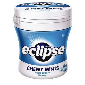 Eclipse Chewy Mints Peppermint Bottle 93g
