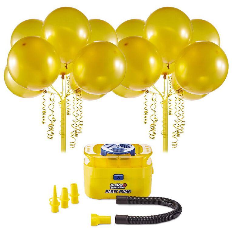 Zuru Bunch O Balloons Self-Sealing 16 Balloons & Pump Pack Gold, , hi-res