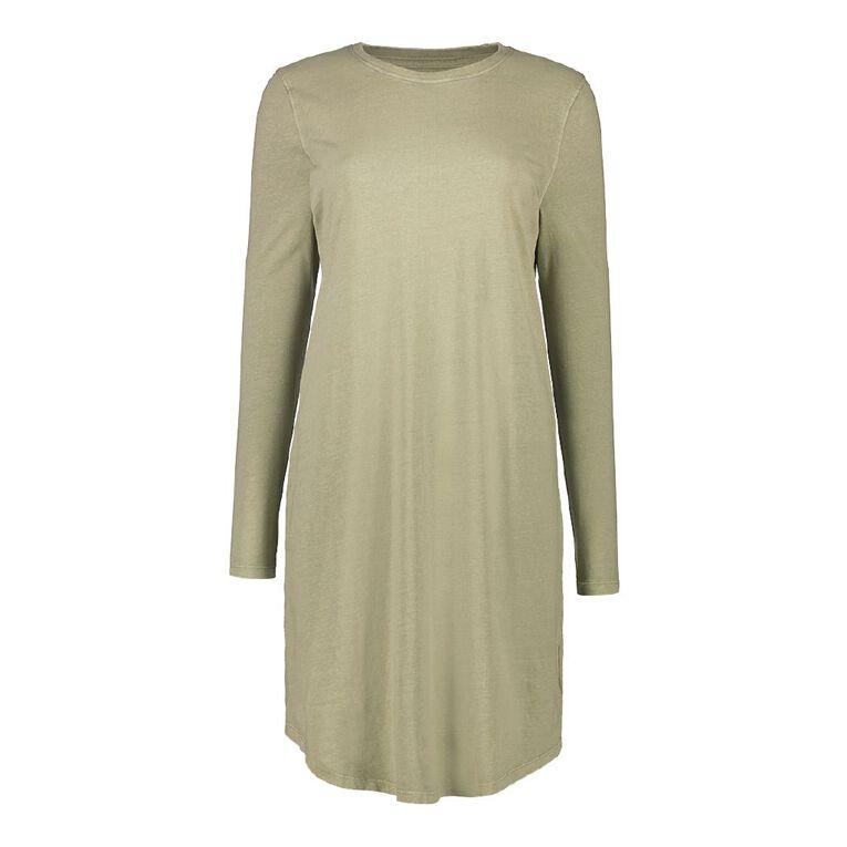 H&H Women's Midi Dress, Green Light, hi-res