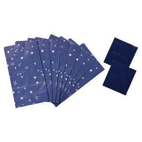 Party Inc Star Loot Bags with Seals 12cm x 6.5cm x 22cm 8 Pack