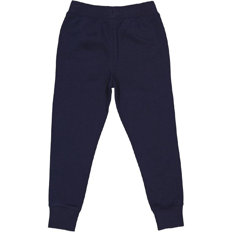 Young Original Printed Jogger Trackpants, Blue Dark, hi-res