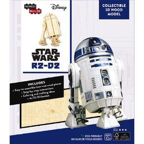 Star Wars Incredibuilds R2-D2 3D Wooden Model