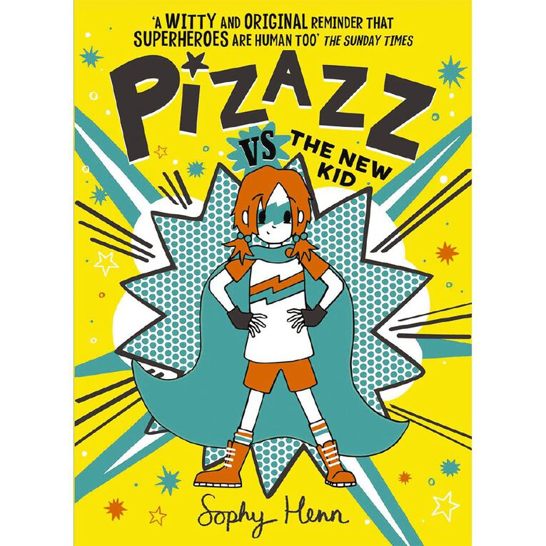 Pizazz #2 Pizazz vs The New Kid by Sophy Henn, , hi-res image number null