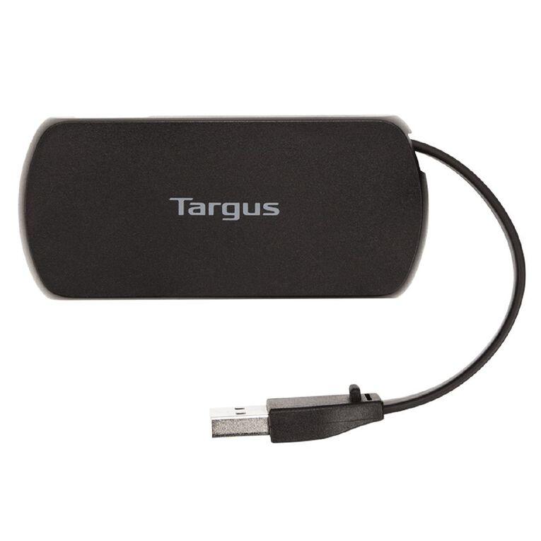 Targus 4 Port USB Hub Black, , hi-res
