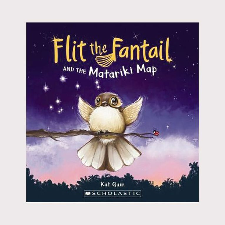 Flit the Fantail and the Matariki Map by Kat Quin, , hi-res