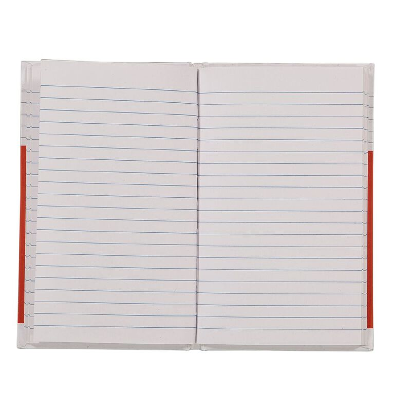 WS Notebook 4B1 7mm Ruled 64 Leaf Red, , hi-res image number null