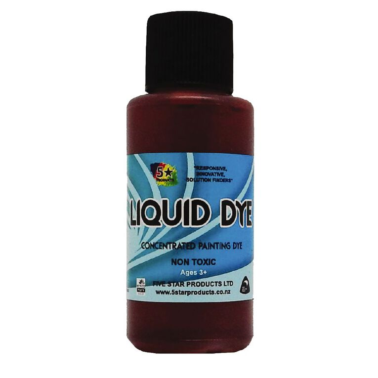 Fivestar Concentrated Liquid Dye Red 50 ml, , hi-res