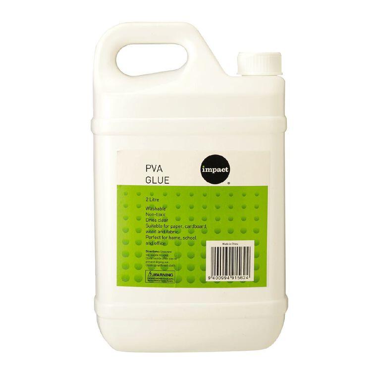 WS PVA Glue White 2L, , hi-res