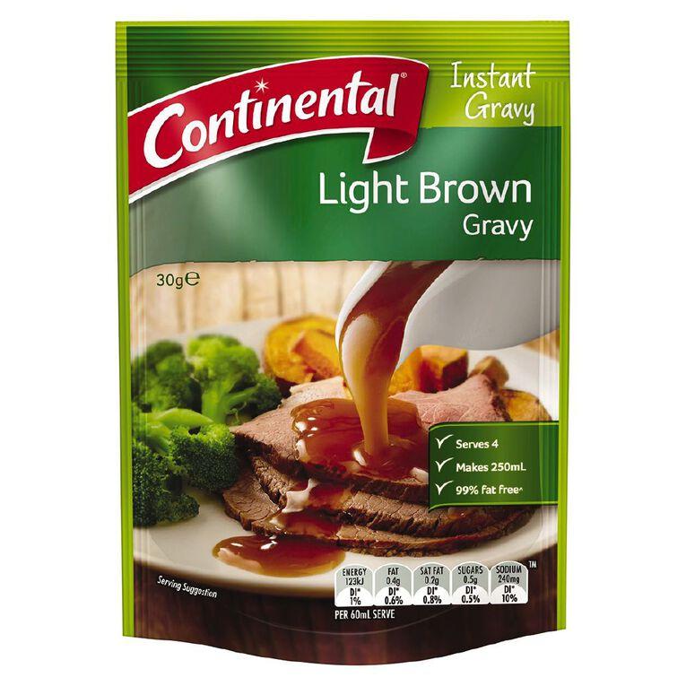 Continental Gravy Light Brown 30g, , hi-res