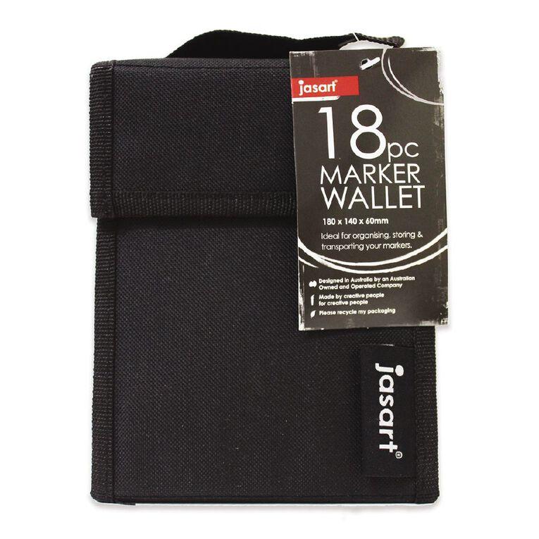 Jasart Marker Wallet 18 Piece, , hi-res
