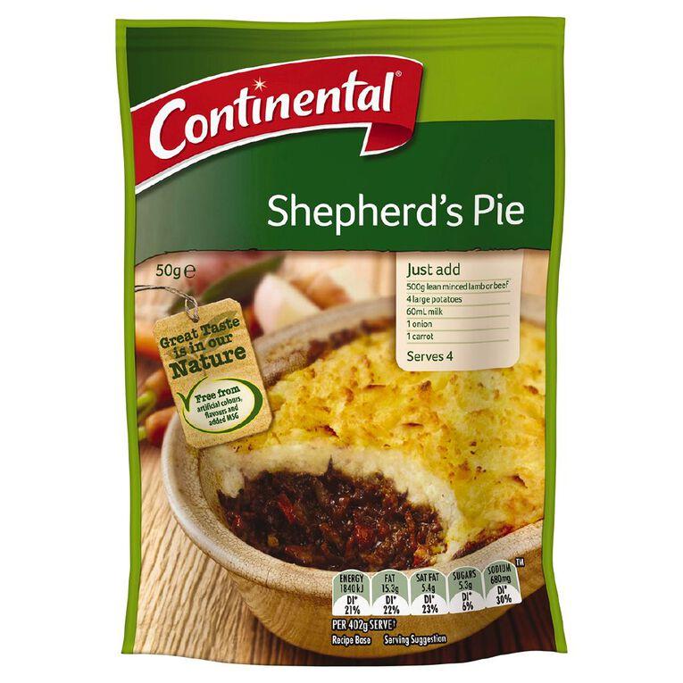 Continental Recipe Base Shepherds Pie 50g, , hi-res