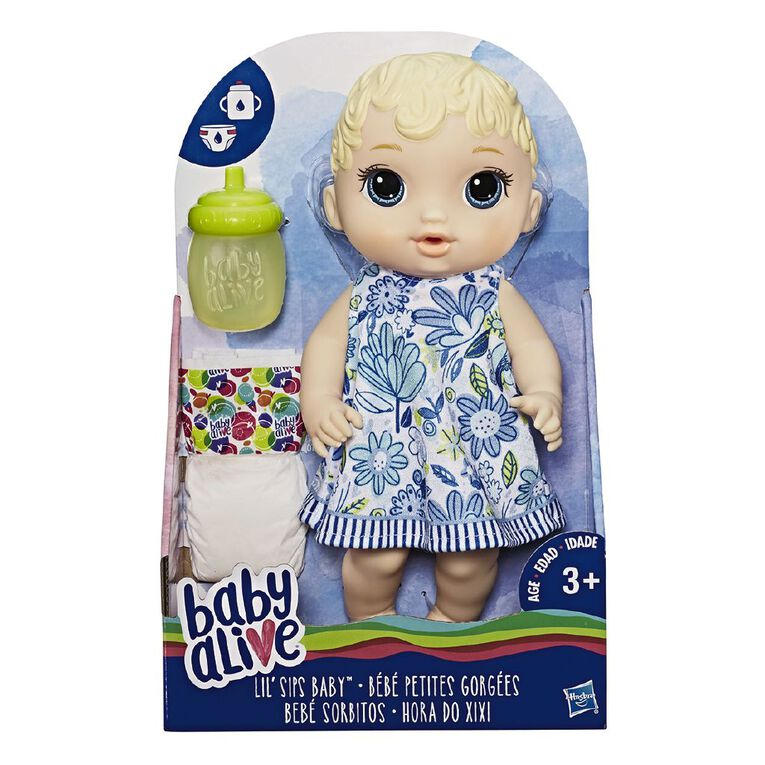 Baby Alive Lil Sips Baby Assorted, , hi-res