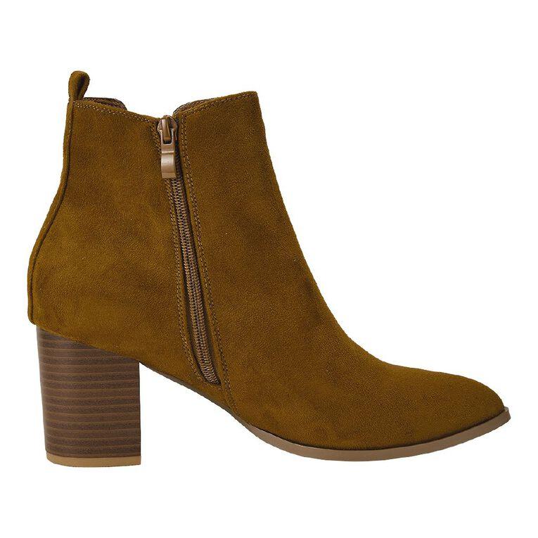 H&H Zoe Boots, Tan, hi-res