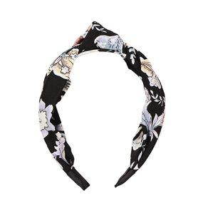 Dark Romance Knot Headband Black