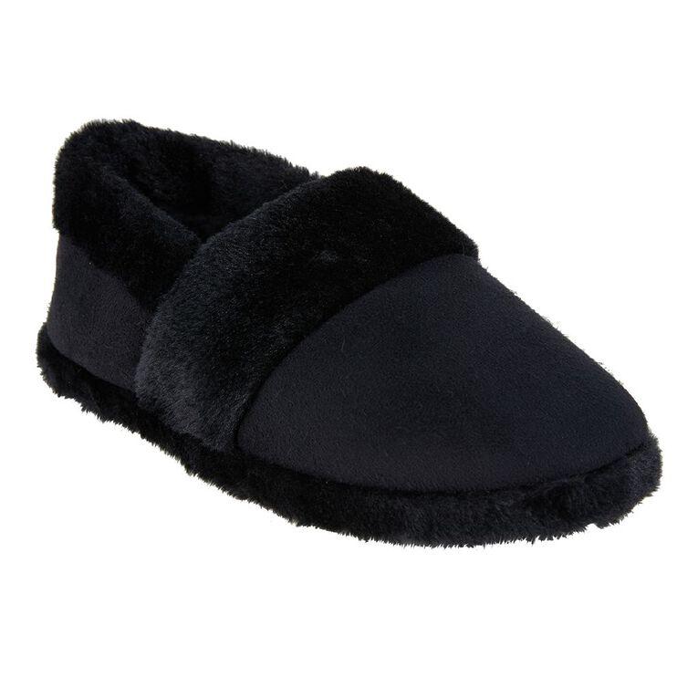 H&H Women's Joy Slippers, Black S21, hi-res