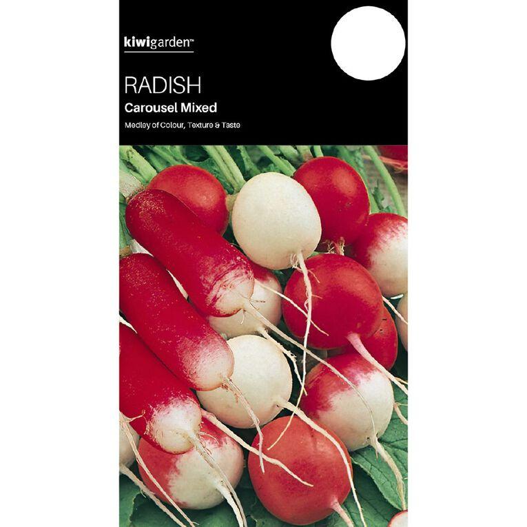 Kiwi Garden Radish Carousel Mix, , hi-res