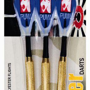 Puma Darts Laser Dart Set Assorted Colours Assorted