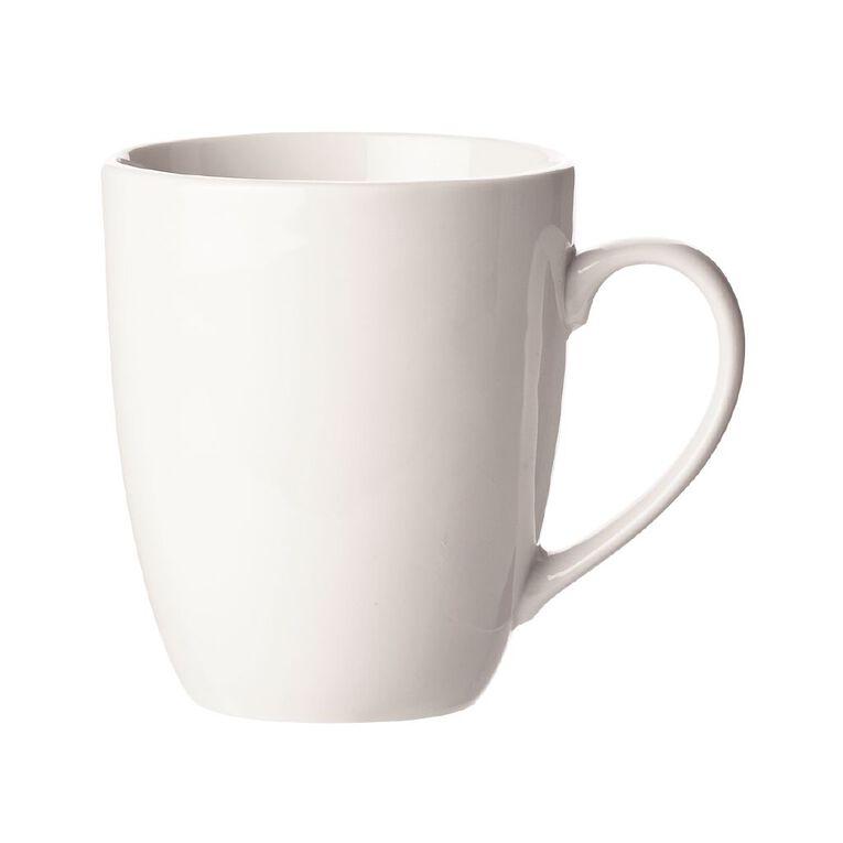 Living & Co Coupe Mug White White, , hi-res