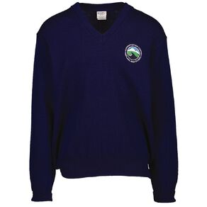 Schooltex Westland High V-Neck Jersey with Embroidery