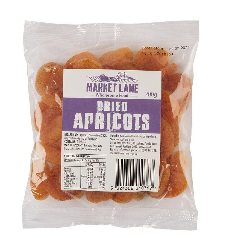 Market Lane Apricots 200g, , hi-res