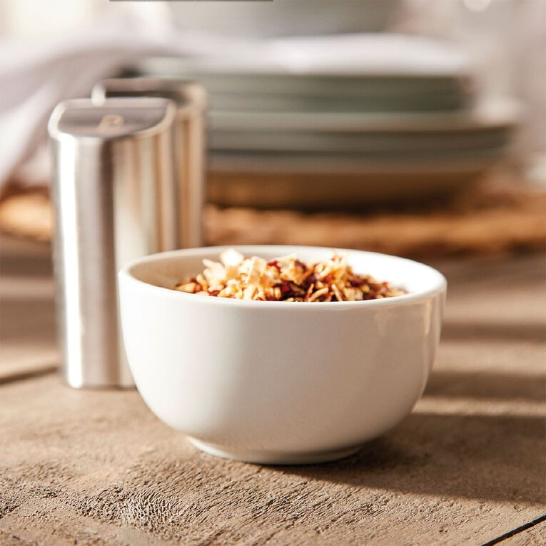 Living & Co Bowl Round Small White, , hi-res