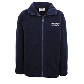 Schooltex Mosston Full Zip Polar Fleece with Embroidery