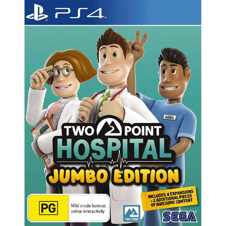 PS4 Two Point Hospital: JUMBO Edition, , hi-res