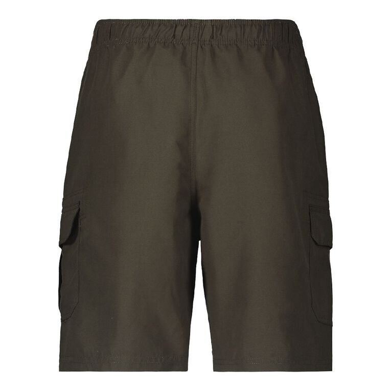 H&H Men's Cargo Boardshorts, Khaki, hi-res